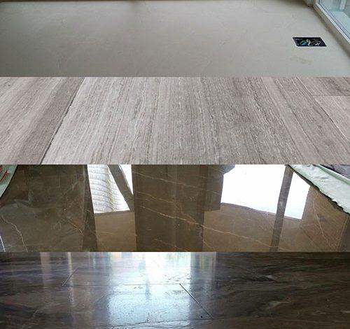 lavorazioni di marmo differenti
