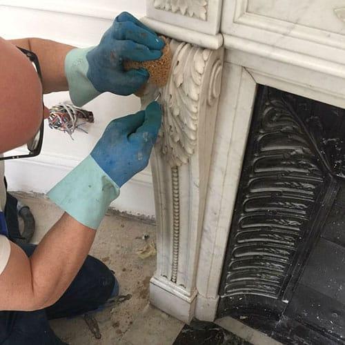 pulizia professionale marmo