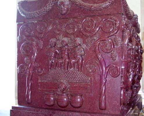 sarcofago in porfido